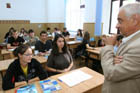 profesor in clasa